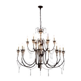 Mystic Collection 1431 Pendant Lamp with Antique White Finish