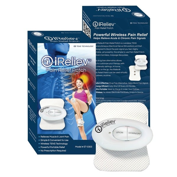 iReliev Pain Relief Patch Wireless TENS Unit