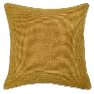 Kosas Home Quinn Mustard 22-inch Throw Pillow