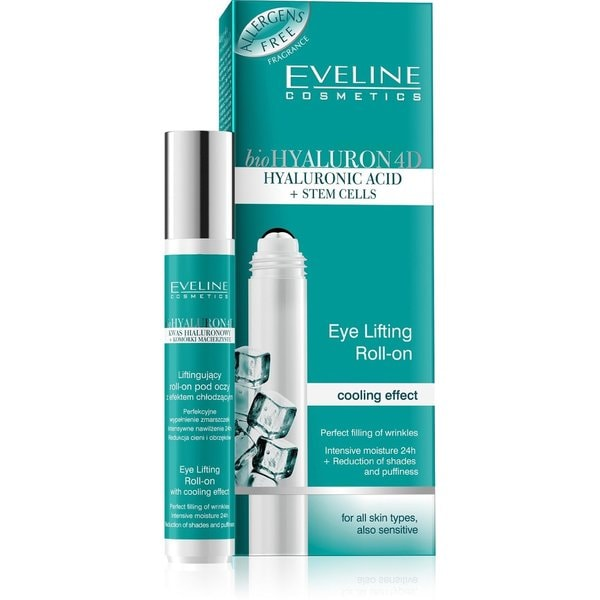 Eveline Bio Hyaluron 4D Cooling Eye Gel Roll-On