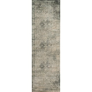 Francis Slate Runner Rug (2'4 x 7'9)