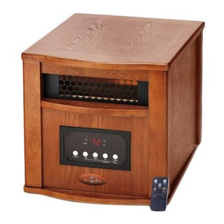 Dynamic 4 Element 1500 Watt Infrared Quartz Heater/ HTR-1500-400 L-Oak