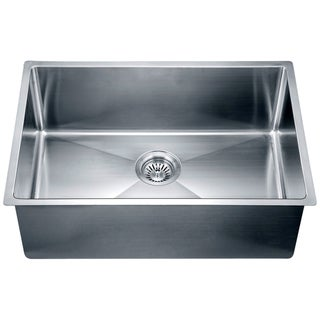 Dawn® Stainless Steel Undermount Small Corner Radius Single Bowl Sink