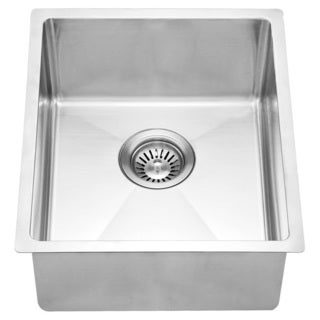 Dawn® Stainless Steel Undermount Single Bowl Bar Sink