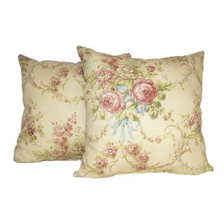 Pavillion Scroll 16-inch Throw Pillows (Set of 2)