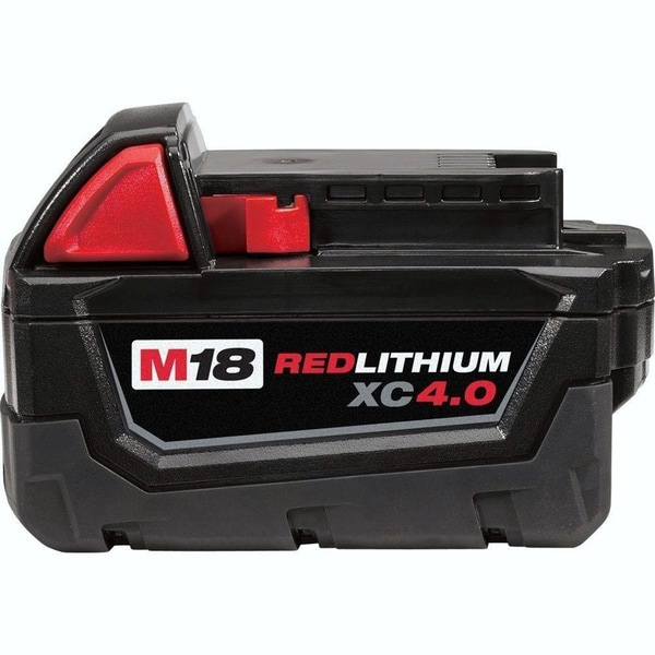 Milwaukee 48-11-1840 M18 Red-Lithium XC 4.0 Extended Capacity Battery Pack