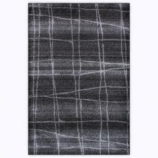 nuLOOM Contermporary Trellis Dark Grey Rug (4' x 6')