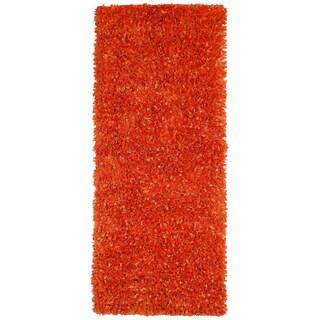 Orange Shimmer Shag (2'x5') Runner