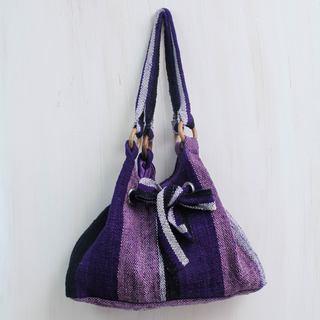 Handcrafted Wool 'Dance Cumbe-cumbe' Hobo Bag (Peru)