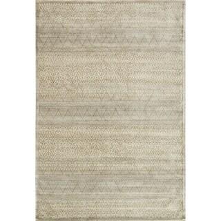 Francis Slate/ Gold Rug (9'2 x 12'2)