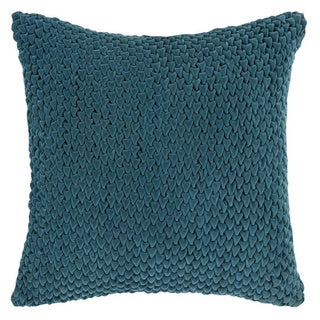 Decorative Solihull 18-inch Textured Poly or Down Filled Pillow