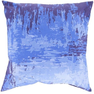 Decorative Southsea 20-inch Abstract Poly or Down Filled Pillow