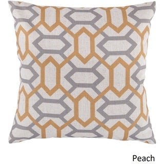 Decorative St.Mawes 18-inch Trellis Poly or Down Filled Pillow