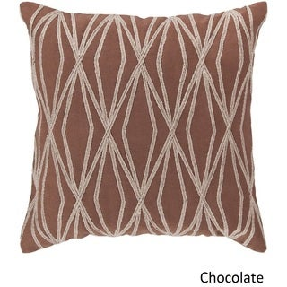 Decorative Salcombe 18-inch Geometric Pillow Cover