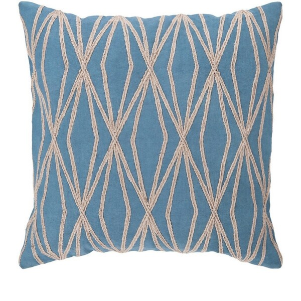 Decorative Salcombe 22-inch Geometric Pillow Cover 16529906