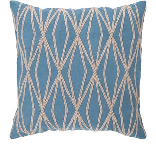 Decorative Salcombe 22-inch Geometric Pillow Cover