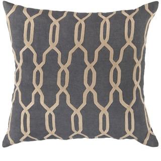 Decorative Rochford 22-inch Trellis Pillow Cover