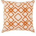 Decorative Rothwell 18-inch Trellis Pillow Cover