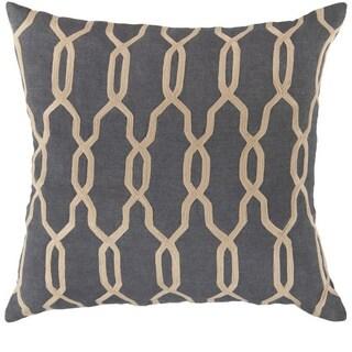 Decorative Rochford 18-inch Trellis Pillow Cover