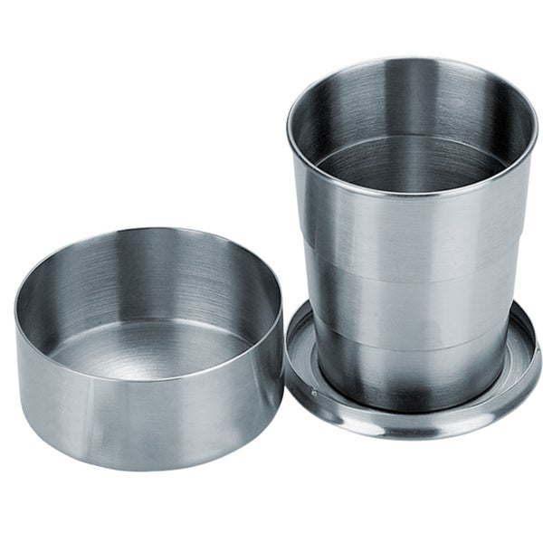 Visol Scope Stainless Steel Folding Shot Cup - 5 ounce 16530074