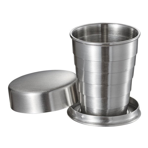 Visol Scope Stainless Steel Folding Shot Cup - 2 ounce 16530075