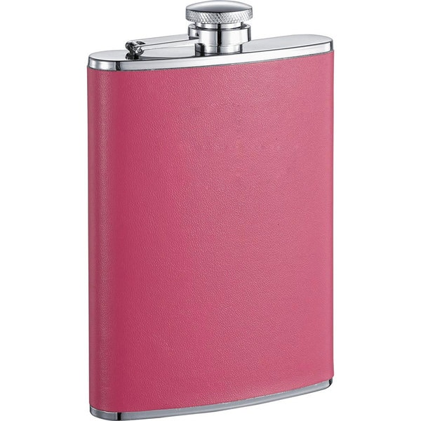 Visol Britney X Hot Pink Liquor Flask - 8 ounces