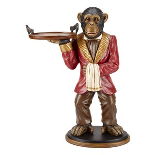 Bombay Outlet Whimsical Winston the Monkey Side Table