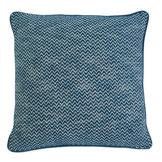 Signature Design by Ashley Chevron Teal Throw Pillow