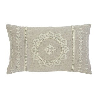 Signature Design by Ashley Embroidered Antique Throw Pillow