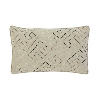 Signature Design by Ashley Stitched Natural Throw Pillow