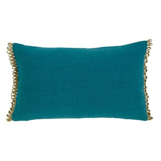 Signature Design by Ashley Solid Turquoise Throw Pillow