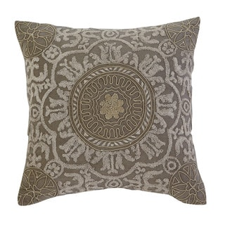 Signature Design by Ashley Medallion Dark Gray Pillow Cover