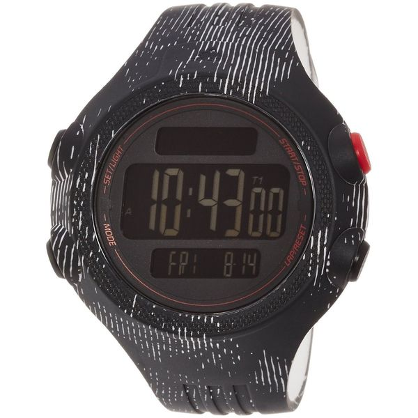 Adidas Men's ADP3186 'Questra' Black Polyurethane Watch