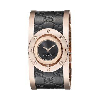 Gucci Women's YA112438 'Twirl' Two-Tone Stainless Steel Watch