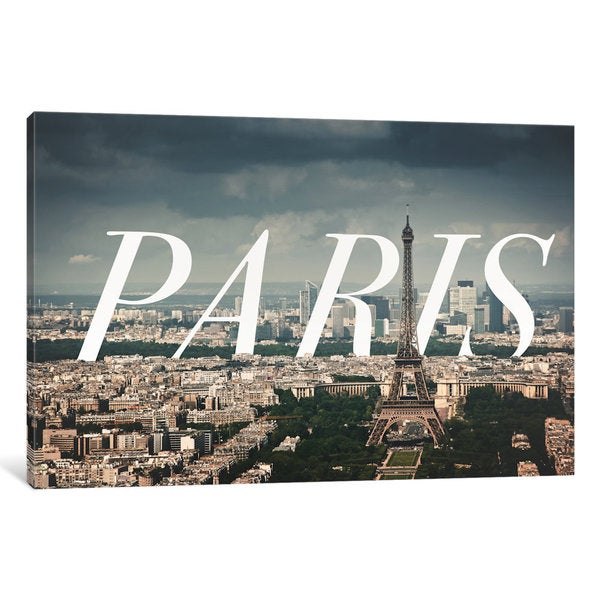 iCanvas Paris by 5by5collective Canvas Print 16530788