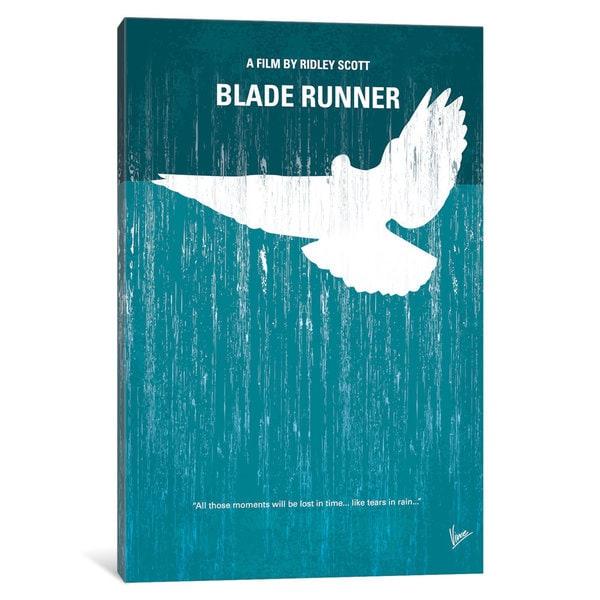 iCanvas Blade Runner Minimal Movie Poster by Chungkong Canvas Print