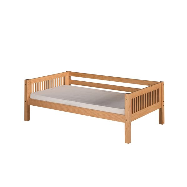 Camaflexi Twin-size Natural Finish Day Bed with Mission Headboard