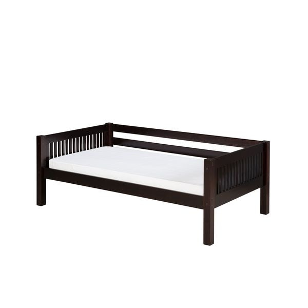 Camaflexi Twin-size Cappuccino Finish Day Bed with Mission Headboard