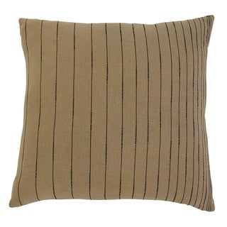 Signature Design by Ashley Stitched Khaki Throw Pillow