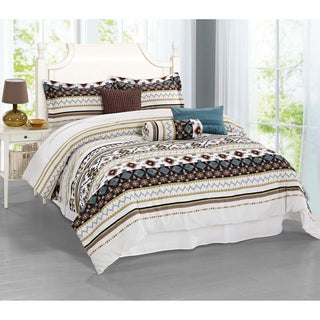 Journee Home 'Menorca' 7-piece Comforter Set