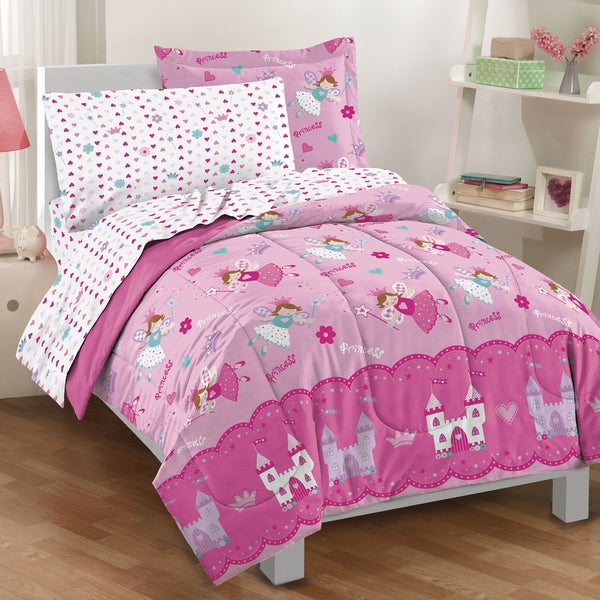 Magical Princess 4-piece Toddler Bedding Set