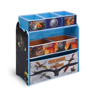 How to Train Your Dragon Multi-Bin Organizer by Delta Children