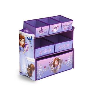Sofia the First Multi-Bin Organizer by Delta Children