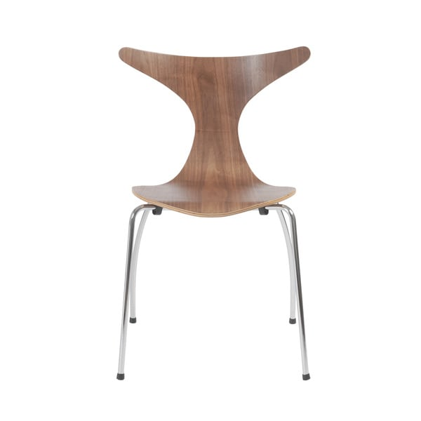 Frida Walnut Side Chairs (Set of 4)