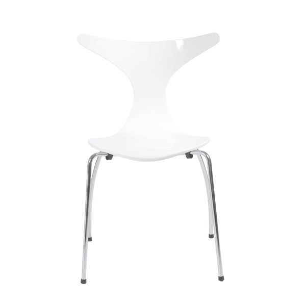 Frida White Side Chairs (Set of 4)