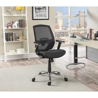 Serta Galaxy Black Ergonomic Manager Mesh Chair