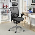Serta Rincon Ergonomic Executive Mesh Chair - Silver