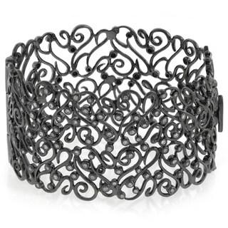 Sonia Bitton Designer 1ct TDW Diamond Bangle Bracelet (SI1-SI2)