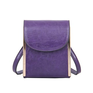 Mellow World Nimble Purple Crossbody Clutch Handbag