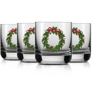 Christmas Schott Zwiesel Tritan Crystal Glass Paris Barware Collection Old Fashioned 10 oz. (Set of 4)